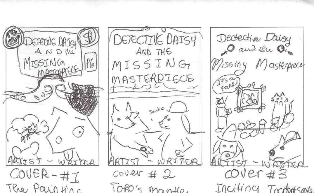 DETECTIVE DAISY COVERS 1-3